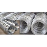 Buy cheap SAE1006B, SAE1008B, SAE1010B BWG Hot Dipped Galvanized Wire Rod of Mild Steel Products from wholesalers