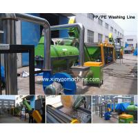 HDPE bottle Plastic Washing Line Stainless steel for wet contacting parts for sale