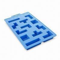 Wholesale Ice Cube Tray, Made of High-quality Silicone, FDA and LFGB Approved, OEM Designs Welcomed from china suppliers