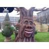 Shopping Plaza Waterproof Resin Cartoon Talking Tree Moving Model for sale