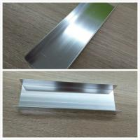 Wholesale Silver Brightness Machanically Polished Aluminum Profiles Highly Wear Resistance from china suppliers