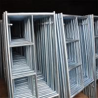Wholesale Temporary Door H Frame Lightweight Scaffolding Systems Strong Rust Resistance from china suppliers