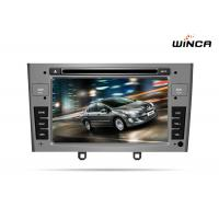 Buy cheap PEUGEOT 408 DOUBLE DIN CAR DVD WITH GPS WITH A8 CHIPSET DUAL CORE 1080P V-20 from wholesalers