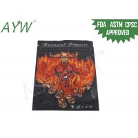 Wholesale Reclosable Sniff / Smell Proof Zipper Bags For Botanical Incense Spices from china suppliers