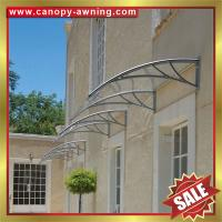 Buy cheap PC polycarbonate diy window door awning shelter canopies canopy cover for house from wholesalers