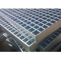 Buy cheap 70mm x 6mm Industrial Floor Grates Galvanized Steel Grating Platform Cross Bar 8mm x 8mm from wholesalers