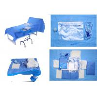 Wholesale Operating Room Sterile Blue Sterile Drape Sheets for Baby Bith Surgery from china suppliers