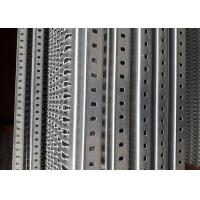 China 11GA Thick Aluminum Perforated Grip Strut Grating For Plank Walkway Stair Tread for sale
