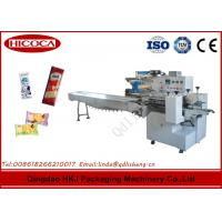 Wholesale Horizontal Snack Food Packaging Machine For Ice Cream Bar / Quick Frozen Food from china suppliers
