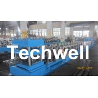 Wholesale Three Wave Highway Guardrail Cold Roll Forming Machine for 3 Wave Guard Rail Beam from china suppliers