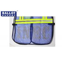 Wholesale Reflective Work Clothing SE - VCV004 Safety Reflective Vest With Pocket from china suppliers