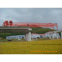 Wholesale OEM Durable And Reliable Travelling Steel launching Gantry Crane For Railway Construction from china suppliers