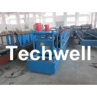 China Galvanised Z Profile Purlin Roll Forming Machine For GI, Carbon Steel on sale