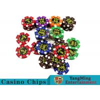 China Good Printing Non - Faded Casino Royale Poker Chips With Special ABS Material on sale
