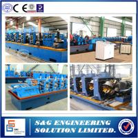 Wholesale Roof Ridge Tile Automatic Steel Welded Pipe Machine 13 Roller Stations from china suppliers