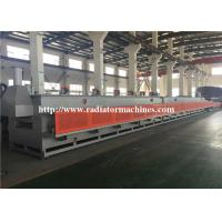 Continuous Quenching Mesh Belt Furnace For Mechanical Parts Heat Treatment for sale