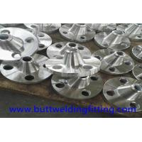 Buy cheap Welding Neck Forged Steel Flanges , 3'' 316L Class300 WN RF Flange from wholesalers