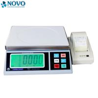 Wholesale white electronic digital weighing scale / high precision weighing scales from china suppliers