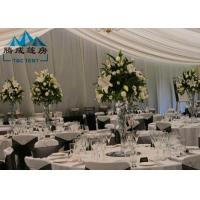 Wholesale Long Life Span Outdoor Wedding Reception Tent For Party Banquet With Air Condition from china suppliers