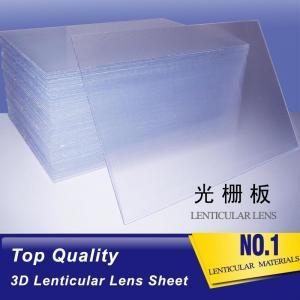 Wholesale 2021 hot sale 20 LPI lens sheet lenticular  for making flip lenticular effect by injekt printer or desktop printer from china suppliers