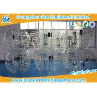 TPU black / Clear Inflatable Bubble Ball with CE SGS Certification inflatable