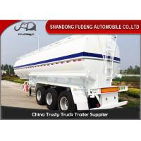Wholesale 2 / 3 Axles Fuel Tanker Semi Trailer With 2 - 10 Compartments 30-60CBM from china suppliers