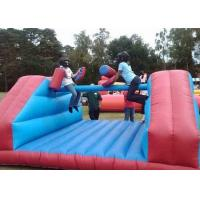 Wholesale Exciting Inflatable Gladiator Game / Waterproof Blow Up Gladiator Arena from china suppliers