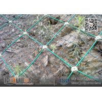 Wholesale 30X30cm Green Color PVC coating SNS Active Rockfall Netting System from china suppliers