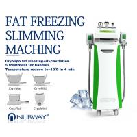 Buy cheap Newest-designed!!! The most featured Cryolipolysis Slimming Equipment Green Vertical from wholesalers
