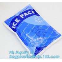 Wholesale Fresh Food ice pack water injection Ice Bag, Dry Ice , Food fresh care rectangular shape gel cooling pack, summer coolin from china suppliers