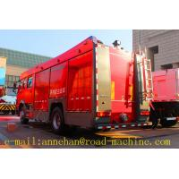 Wholesale SINOTRUK Fire Fighting Trucks HOWO 4x2 6m3 With Foam Tank  EURO2/3/4 from china suppliers