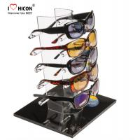 Wholesale Tabletop Acrylic Eyewear Display Rack For Brand Shop 5 Pairs Sunglasses Promotion from china suppliers