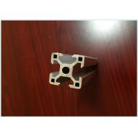 6063 T5 Black Anodized Aluminum Extrusions for Aluminum T - Slotted Frame 40 X 40mm for sale