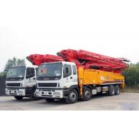 Wholesale Energy Saving Concrete Pump Truck Automatic Control 48m Boom ISO CCC from china suppliers
