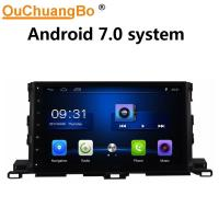 Wholesale Ouchuangbo car radio multi media digital screen for Toyota Highlander 2015 with USB SWC 1080P Video BT android 7.0 from china suppliers