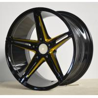 Wholesale Full Painted Chrome Black 18 Inch Alloy Wheels Lower Pressure For Car from china suppliers