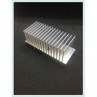 Buy cheap Finished 6000 Series Black Aluminum Heatsink Extrusion Profiles For Industry Parts from wholesalers