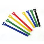 Wholesale Industrial Adjustable Hook Loop One Wrap Cable Ties , Back To Back Hook Loop Tape ties from china suppliers