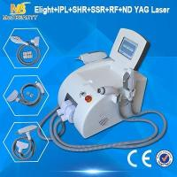 Wholesale High Power Hair Removal Machine IPL RF ND YAG Laser Permanent from china suppliers