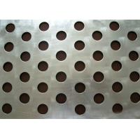 Wholesale Round Hole Perforated Steel Sheet , Q235 Steel Galvanised Perforated Sheet from china suppliers