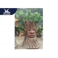 Artificial Cartoon Waterproof Talking Tree Life Size Facility Theme Park for sale