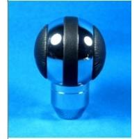 Wholesale Black + Sliver Aluminum Racing Auto Gear Knob For Man , Round Shift Knob from china suppliers