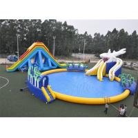 Wholesale Entertainment Blow Up Games Ultimate Inflatable Water Park / Water Toys For Lake from china suppliers