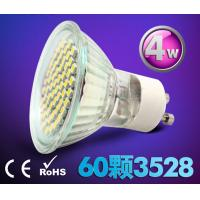 Wholesale 4W Ceramic indoor lighting bulb down lamp led spot light GU10 220V E27 60pcs SMD3528 from china suppliers