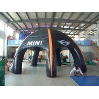 China Custom Advertising Air Supported Inflatable Dome Tent , Inflatable Giant Tent on sale