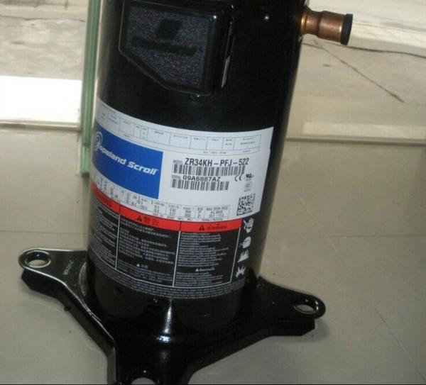 Quality High Temperature Refrigeration Scroll Compressor , Carrier Scroll Compressor ZR34KH-PFJ-522 2.8HP for sale