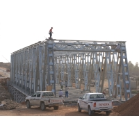 Wholesale Pipe Prefabricated Steel Truss Pedestrian Bridge from china suppliers