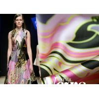 Wholesale Women Silk Dress Fabric 53*53 Density , Woven Digital Printing On Silk Fabric from china suppliers