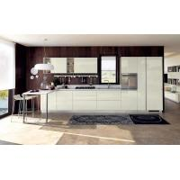 Wholesale White glass paint door panels, cabinets, open and easy-to-clean kitchen waterproof panels from china suppliers