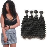 Wholesale Authentic Long Deep Wave Hair Bundles , Full Deep Wave Human Hair Weave from china suppliers